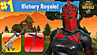 Red Knight Skin! - Fortnite: Battle Royale Gameplay - ExoGhost