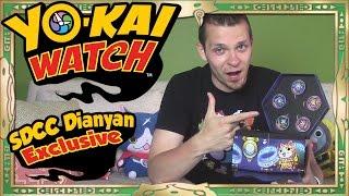 Yo-Kai Watch - San Diego Comic Con Exclusive Dianyan Set Unboxing! Gemnyan Medals!