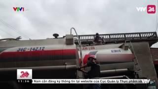 Công Nghệ Pha Xăng Sau Khi Rút Ruột Xe Téc - VTV24