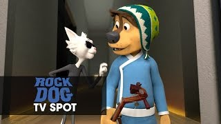 """Rock Dog (2017 Movie) Official TV Spot – """"Get To The Gig"""""""