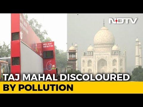 Air Purifier Van Deployed At Taj Mahal To Tackle Pollution