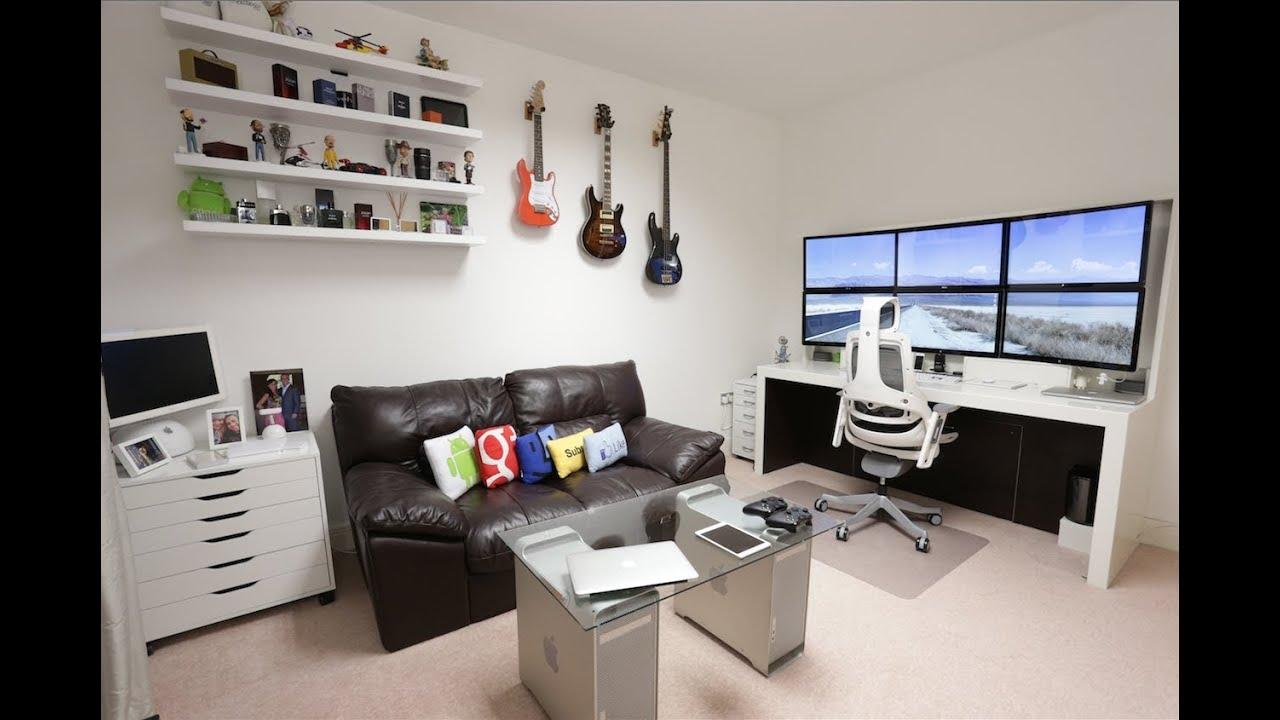 Ultimate Room Tour - My Setup v6 [4K] - YouTube