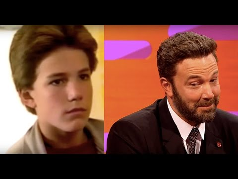 Young Ben Affleck Can't Hide His Boredom - The Graham Norton Show