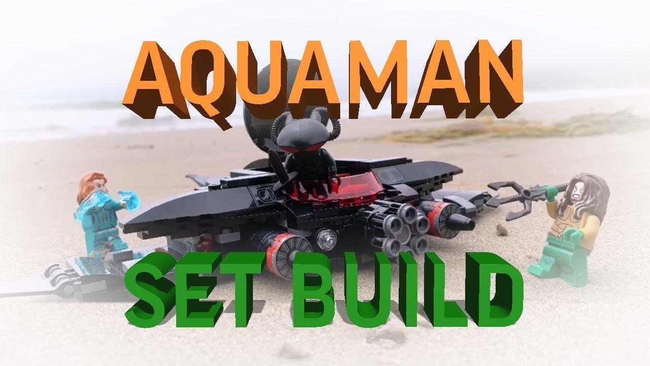 LEGO DC Super Heroes Aquaman Black Manta Strike Set #76095