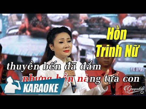 Hồn Trinh Nữ Karaoke Thúy Hà (Tone Nữ) | Nhạc Vàng Bolero Karaoke