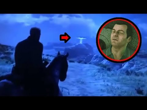 Michael From GTA 5 Abducted in Red Dead Redemption 2!? UPDATE