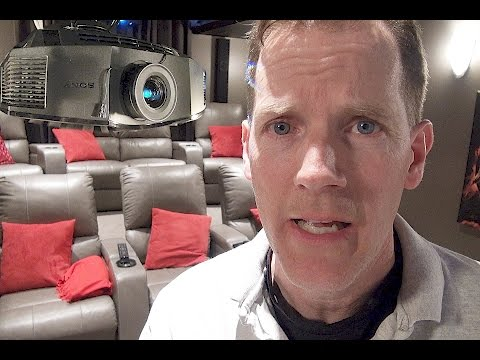 🎥 Home Theater Equipment Demo 🎞 - Burke Cinema Part 2