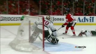 Patrick Kane dazzles with awesome backhand goal