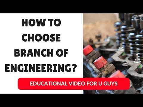 How to choose Engineering Branch? | In Hindi | Top Btech branches