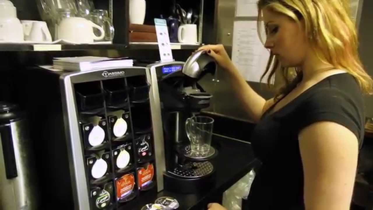 brewing success one t disc at a time tassimo pro turns up the heat on coffee sales hd youtube. Black Bedroom Furniture Sets. Home Design Ideas