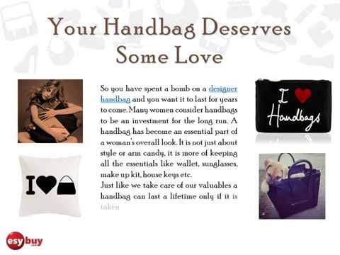 Top 5 tips, how to take care of your handbags.