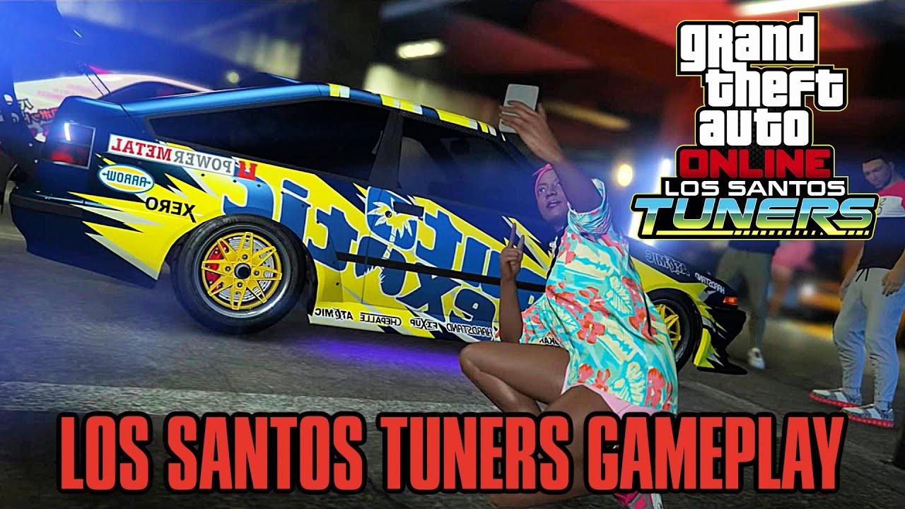 """Gta 5 online: """"Los Santos Tuners DLC"""" Gameplay and Countdown (GTA ONLINE NEW UPDATE)"""