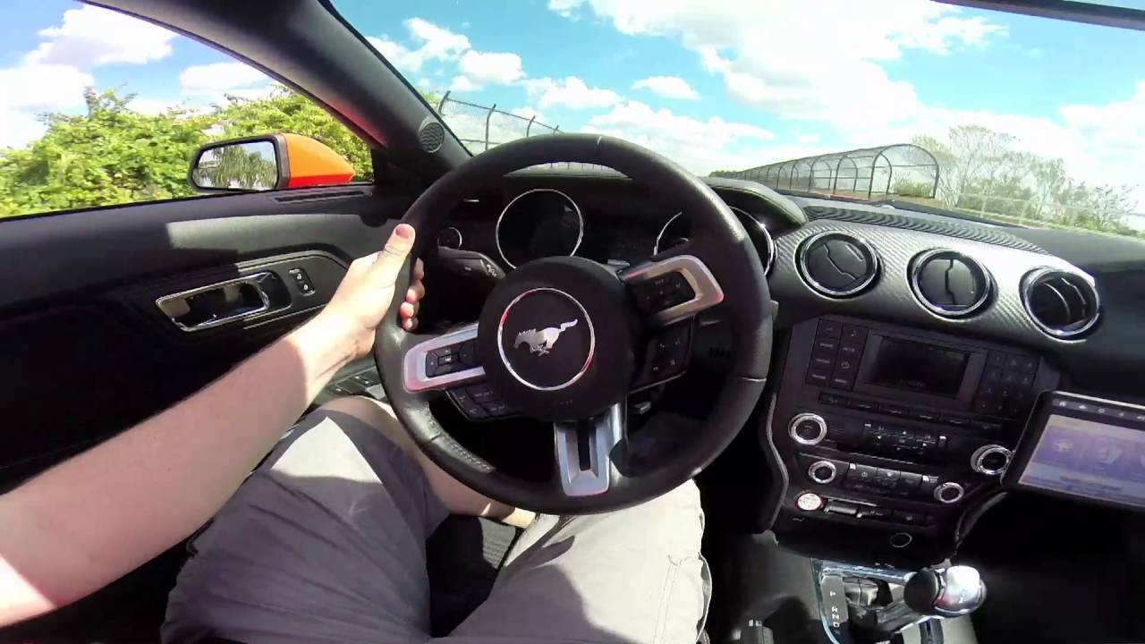 2016 ford mustang v6 review convertible youtube