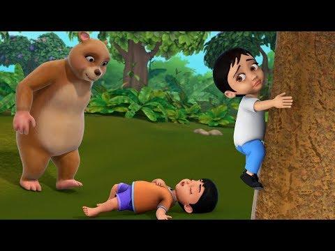 கரடியும் இரண்டு நண்பர்களும் | Tamil Stories for Children | Infobells