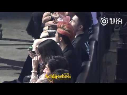 160410 Luhan reaction to Exo + Talk @4th V-Chart Awards