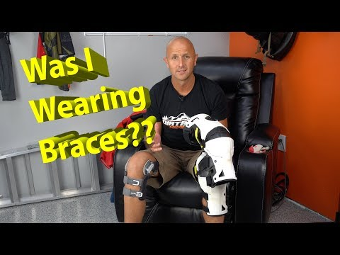 Was I wearing Braces when I tore my ACL and MCL??  What will I wear now??