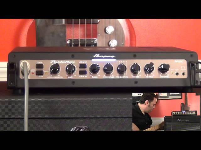 Ampeg PF-500 Bass Head - Tone Settings - Rock