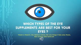 Best Eye Care Supplements