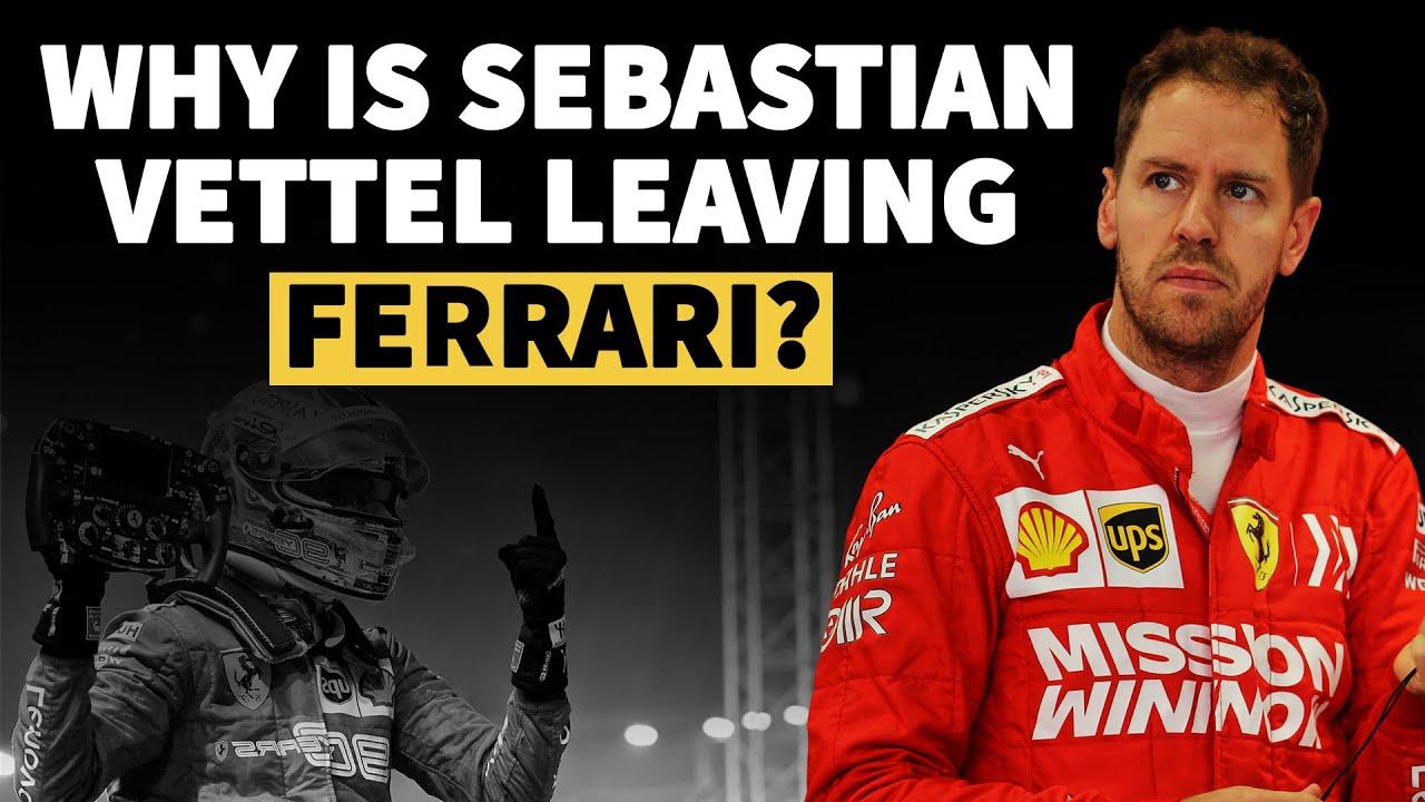 Why Is Sebastian Vettel Leaving Ferrari Crash Net Youtube