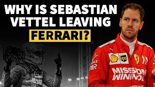 Why is Sebastian Vettel leaving Ferrari? | Crash.net