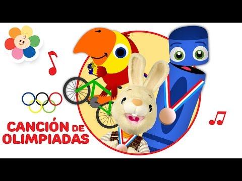 Musica Olimpiadas 2016 para Niños | Canciones Infantiles de los Juegos Olimpicos 2016 | BabyFirst