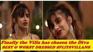 Download FINALLY THE VILLA HAS CHOSEN MIESHA IYER AS BEST DRESSED CONTESTANT? | SPLITSVILLA 12 FASHION TALKS Mp3 and Videos