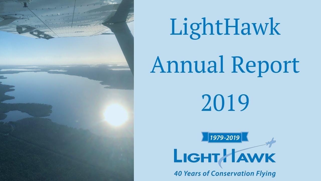 2019 LightHawk Annual Report - YouTube