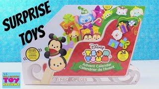 Disney Tsum Tsum Advent Calendar Exclusive Figures 24 Surprises Toy Review | PSToyReviews
