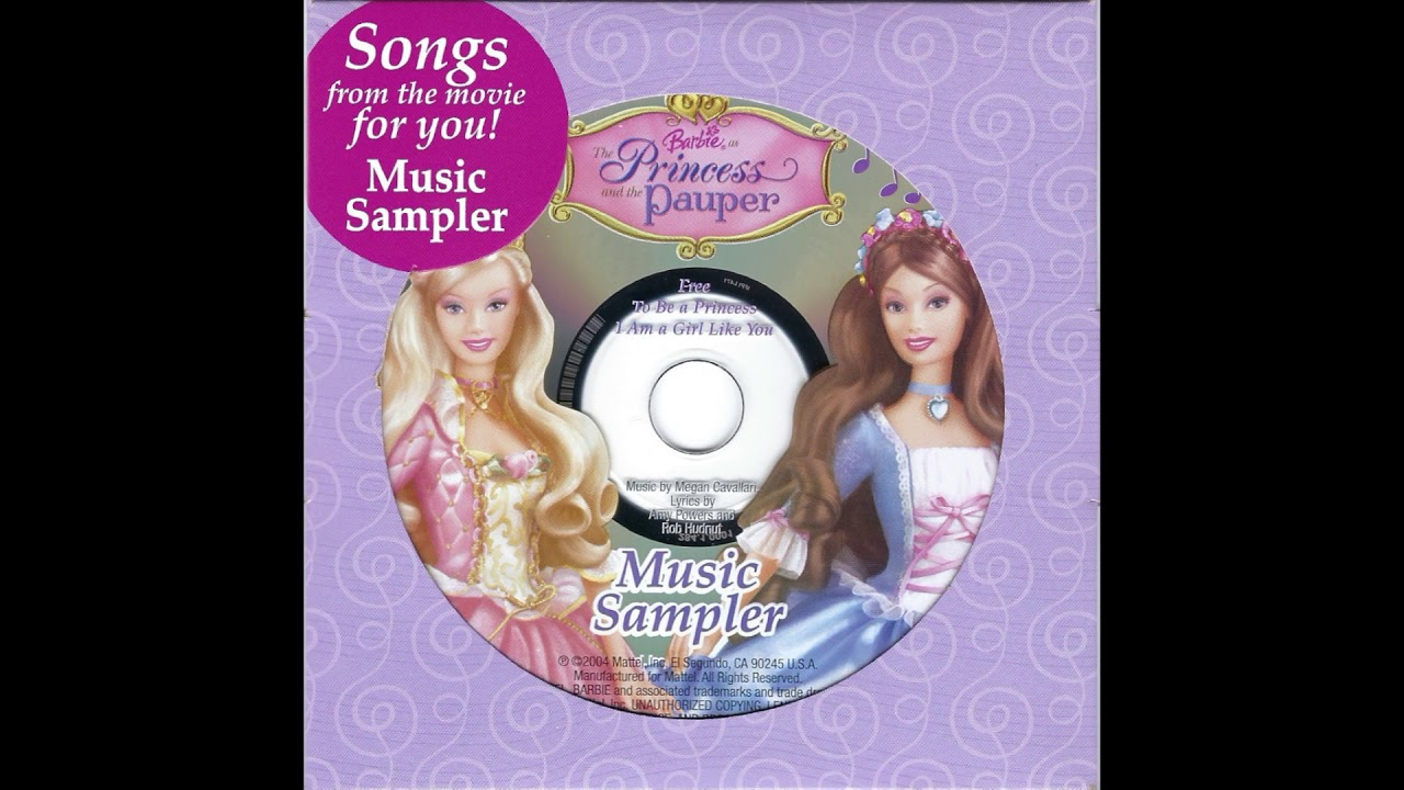 Download Barbie® as The Princess and the Pauper - Music Sampler (Official Audio)