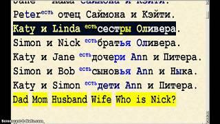 Урок 59  Притяжательный падеж  Possessive Case   Катин брат  Ленина сестра