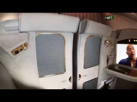 阿聯酋Emirates A380 First Class 電動門
