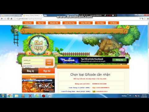 hướng dẫn đăng kí game gunny lau s1.garobot.net