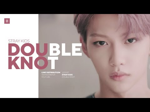 Download Stray Kids - Double Knot Line Distribution Color Coded | 스트레이 키즈 - 더블낫 Mp4 baru