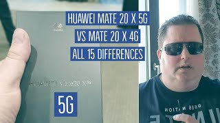 Huawei Mate 20 X 5G vs Mate 20 X - All 15 Differences