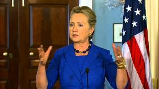 Secretary Clinton Meets With Brazilian Foreign Minister Patriota