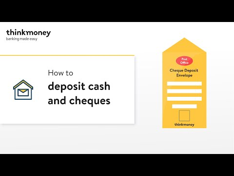 How To Deposit Cash And Cheques Into Your Account