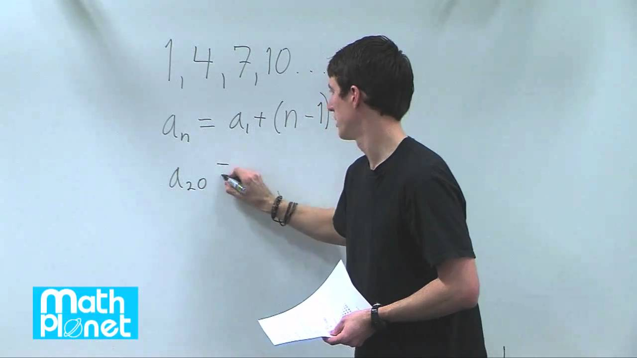 Arithmetic sequences and series (Algebra 2, Sequences and