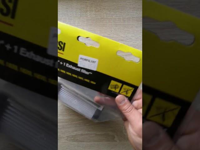 Zanussi porszívó Hepa filter készlet  ZF134, PORFIL157