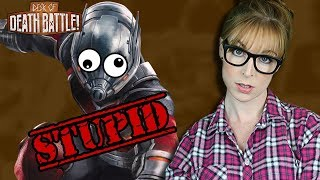 Why Ant-Man is STUPID! | The Desk of DEATH BATTLE