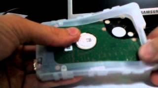 Разборка внешнего жесткого диска - Transcend StoreJet 25D3 USB 3.0 Portable Hard Drive thumbnail