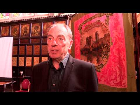 Marras Launch with Alun Armstrong