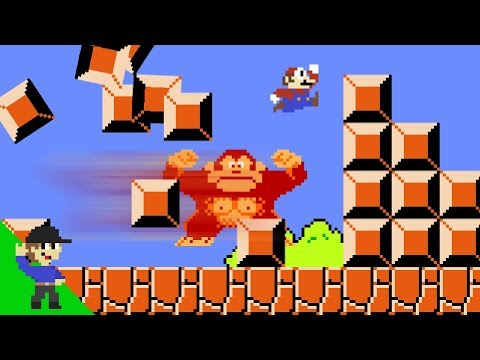 Donkey Kong would be OP in Super Mario Bros.