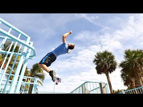 Backflip Fail in Florida – PARKOUR Vlog #68