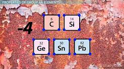 Group 4A Elements  Definition   Properties   Video   Lesson Transcript
