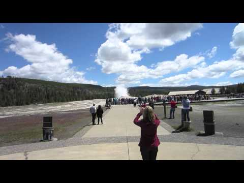 Amtrak Vacation (Yellowstone (The Geysers).mov