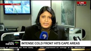 Intense cold winds hit the Cape areas
