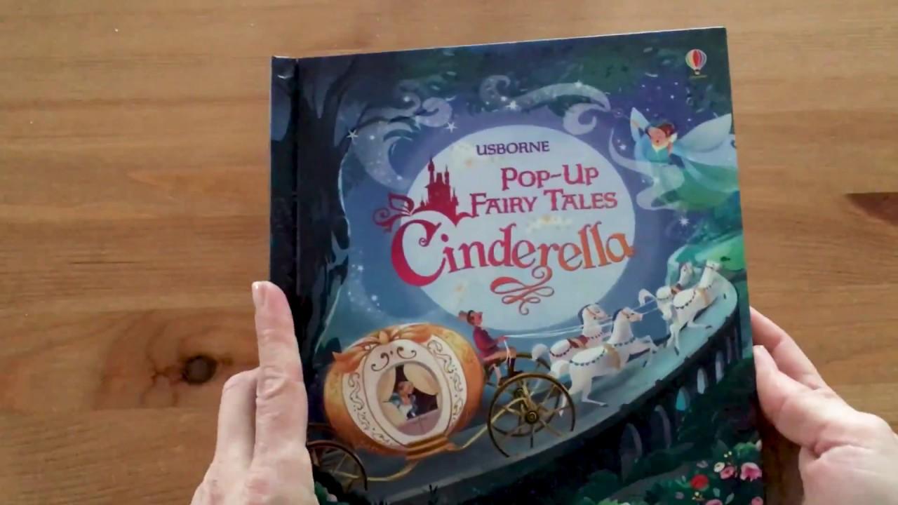 PopUp Fairy Tales Cinderella  Usborne  YouTube