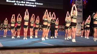 University of Regina Cheerleading - USA Collegiate Nationals 2011 - Day 1 - Small Coed