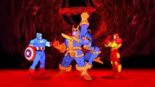 Marvel VS Capcom 2 - Captain America/Thanos/Iron Man - Expert Difficulty Playthrough