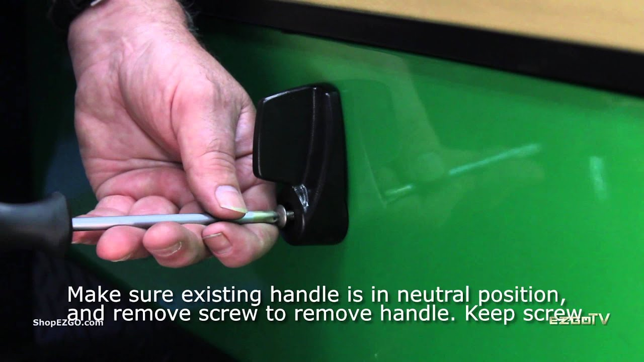 hight resolution of how to replace e z go forward neutral reverse handle